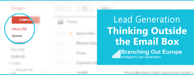 Lead Generation – Thinking Outside The Email Box